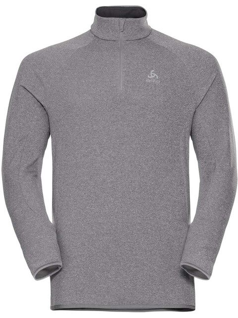 Odlo Carve Warm 1/2 Zip Midlayer Men grey melange